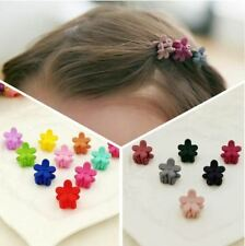 30pcs Solid Color Flower Design New Fashion Hair Clip Hair Accessories