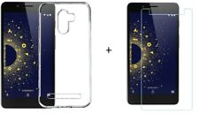 For 10.or D Back Cover Transparent Soft Silicon Case / Tempered Glass