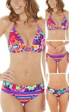 Lepel Sol KISS TRIÁNGULO sin espalda Push Up Top Bikini, Atado Lateral, volante