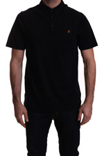 "FARAH VINTAGE ""STAPLETON"" S/S POLO SHIRT TRUE NAVY, NEW! MOD-SKINHEAD-CASUAL"