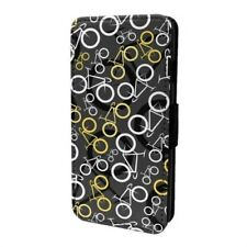 Ciclismo Bici estampado Funda libro para Apple iPod - s6642