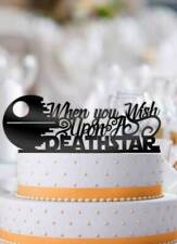 When You Wish Upon A Deathstar Star Wars Wedding Cake Topper