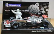 MINICHAMPS MICHELIN COLLECTION McLAREN MP4-20 & 21 F1 model Kimi Raikkonen 1:43