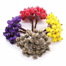 Christmas Foam Frosted Fruit Berry Artificial Flower Home Tree Decor Hair Band