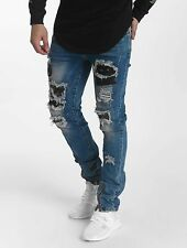 John H Uomini Jeans / Jeans straight fit Star Destroyed
