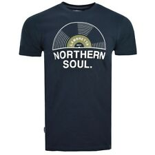 LAMBRETTA CLOTHING NORTHERN SOUL RECORD T-SHIRT NAVY, NEW! MOD-SKINHEAD