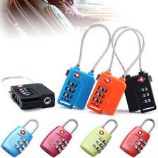 New Resettable TSA 3 Digit Combination Lock Travel Luggage Suitcase Code Padlock