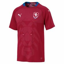 Puma Football Mens Czech Republic Home Jersey Shirt Top 2018 FIFA World Cup