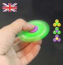 Tri Spinner Fidget Toy Stainless Balls EDC Hand ADHD Anxiety Stress Relief UK F1