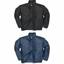Uomo Portwest Falkirk zip frontale Bomber Giacca Cappotto (s533)