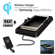 Wireless Mat Charging S8 Holder Mount Iphone Strong Pad Non-slip Car Qi Charger