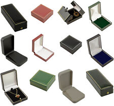 Luxury Leatherette Pendant Drop Earring Boxes High Quality Jewellery boxes