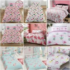 Flamant Rose Housse de couette ensembles enfants adultes LITERIE - Simple,