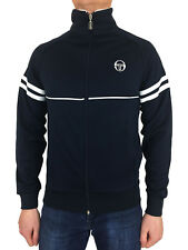 Sergio Tacchini Mens Orion Archivio 36969002 Tracktop in Navy Blue Medium