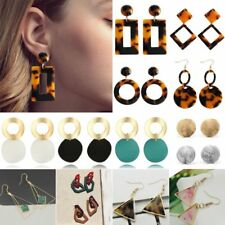 Boho Geometric Womens Round Dangle Drop Hook Ear Stud Earrings Party Jewellery