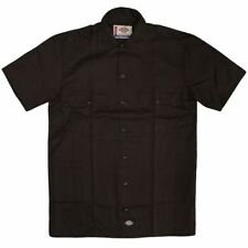 Dickies 1574 Short Sleeve Work Shirt Dark Brown