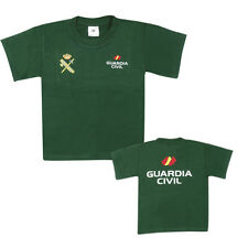 CAMISETA VERDE GUARDIA CIVIL-NIÑO (TODAS LAS TALLAS)
