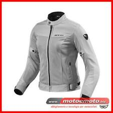 Giacca Moto Donna Estiva Rev'it Eclipse Ladies Argento Traforata FJT224 Revit