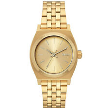 Nixon Damen Uhr Medium Time Teller - All Gold
