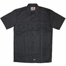 Dickies 1574 Short Sleeve Work Shirt Charcoal