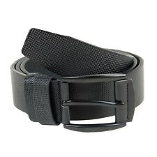 New Plain & Smooth Stylish Black   Formal/ Casual Leatherette  Belt for Men's