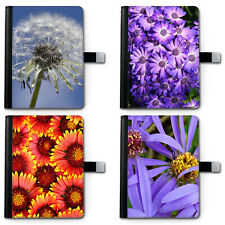 BLOSSOM FLOWERS IPAD LEATHER CASE, 360 SWIVEL TABLET COVER FOR APPLE I PAD