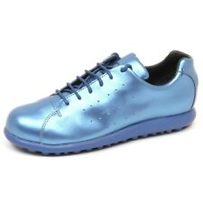 E5880 (WITHOUT BOX) sneaker donna light blue laminated CAMPER scarpe shoe woman