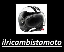 Casco Momo design fighter Avio Nero / Bianco