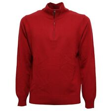 6855V maglione lana uomo KANGRA red sweater men