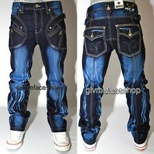 VERO Peviani barra G Jeans, HIP HOP URBAN Time Is Money uomo denim stelle