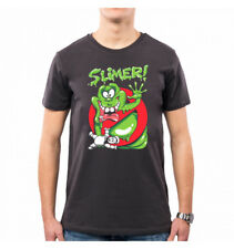 CAMISETA HOMBRE SLIMER MOVIES GHOSTBUSTERS ACCHIAPPAFANTASMI VT0039A PACDESIGN
