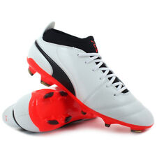 Scarpe calcio Puma - ONE 17.3 FG White / Black / Coral