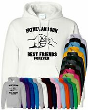 Father And Son Best Friend Forever Birthday Mens Hoodie Present Gift Dad Hoody
