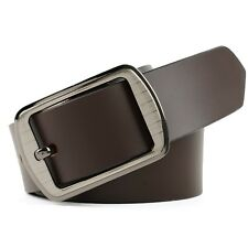 100% Brown Stylish Genuine Leather  Belt For Men's
