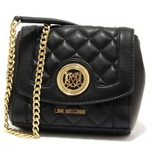 7479V borsa pochette donna LOVE MOSCHINO eco leather trapuntata bag woman