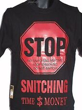 STOP snitching INFANTIL CAMISETAS, Hip Hop 'Camisetas, RAP, Urbano Time Is Money
