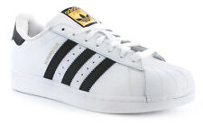 New Mens/Gents White Adidas Originals Superstar Foundation Trainers. UK Size
