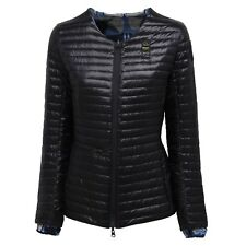 7434V giubbotto donna dark blu BLAUER piumino double face jacket woman