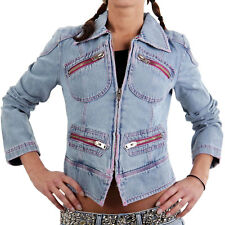 MET Donna Giacca in jeans denim Cheeky Blue 151686-1