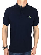 Lacoste Mens L1212 Polo Shirt in Navy Blue