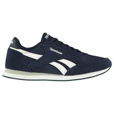 Reebok Classic Jogger Trainers Mens Navy/White Sports Shoes Sneakers