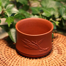 70cc marked tea cup real yixing zisha cup of tea Chinese kungfu tea cup bamboo