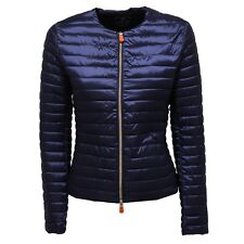 7933V piumino donna SAVE THE DUCK ULTRA LIGHT blue jacket woman