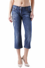 83605jeans donna husky husky donna jeans a pinocchietto made in italy stras…