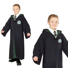 Rubies Childs Deluxe Slytherin Robe Harry Potter Hogwarts Book Week Costume