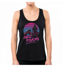CAMISETA SIN MANGAS MUJER WELCOME TO NEO TOKYO GEEK FUNNY TV SERIES 80'S DDJVIGO