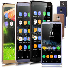 """Unlocked 5.8"""" Cell Phone Luxury Quad Core Dual SIM 3G GPS Smartphones Android7.0"""
