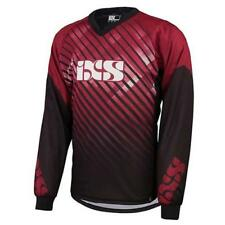 IXS TEMPERATURA DH JERSEY Mountainbike - ROSSO MOTOCROSS ENDURO MX Cross