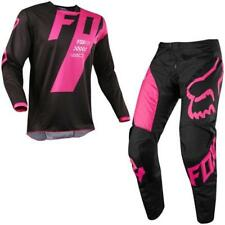 FOX 180 MASTAR Motocross Jersey + Hose 2018 - schwarz Motocross Enduro MX Cross