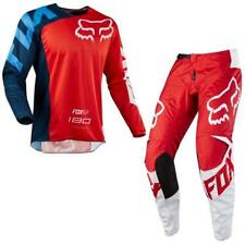 FOX 180 RACE Motocross Jersey + Hose 2018 - rot weiss Motocross Enduro MX Cross